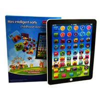 Il più nuovo Touch Screen Mini Size Pad Imparare inglese Computer portatile Gioco Musica Telefono Learning Machine Bambini Educational Tablet Toy casuale Colo