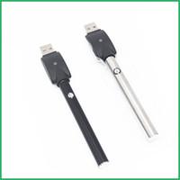 новые ручки для стилей оптовых-Новый 510 кнопка vape ручка батареи e-smart vision style 280 мАч 350 мАч бутон сенсорный vape pen CO2 масло пирекс картридж