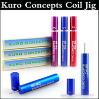 Wholesale kuro jigs for sale - Kuro Concepts Wire Coiling Tool Koiler coil jig RAD coil tools drawing Wrapping Coiler for kayfun ATTY Troll Mad hatter RDA via DHL