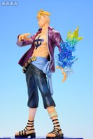 Wholesale One Piece Anime Pop Dx - J.G Chen 2015New Anime One Piece POP DX Marco PVC Action Figure Collectible Model Toy