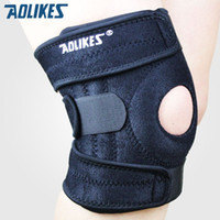 Wholesale Mountain Bike Knee Pads - Mountaineering knee pads with 4 springs support cycling knee protector Mountain Bike Sports Safety kneepad brace