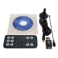 Wholesale Digital Tv Tuner Laptop - Mini Digital TV Stick DVB-T 02 Digital USB TV CARD TUNER for Freeview Laptop PC 83027