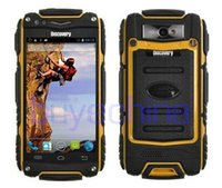 Wholesale Discovery Waterproof Mobile Phone - 3G WCDMA rugged phone Discovery V8 Waterproof Phone Quad Core MTK6582 3G GPS 4.0inch Screen 1.3GHZ 5MP Dustproof Shockproof mobile phone