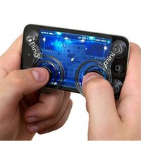 "Wholesale Mini Joystick Game Controller - 2 Pcs Pack Touch Screen Phone Game Mini Joysticks with Suckers Smartphone Tablet Accessories (Size: 2.3"" by 1.3"")"