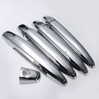 Wholesale Toyota Chrome Door Handles - New Chrome Door Handle Covers Trim For Toyota Tacoma Avalon Camry 4Runner Sienna FREE SHIPPING order<$18no track
