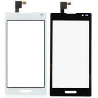 Wholesale Lg L9 White Black - New Touch Screen Digitizer Replacement For LG Optimus L9 P760 Rreplace white and black Free Shipping