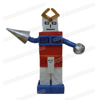 Wholesale Mascot Costumes Robot - Fast Delivery robot mascot costume customized mascot Adult Fancy Costume Party dress