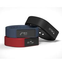 Wholesale Vogue Watch Bracelet - Vogue I5 Plus Smart Watch Band Bracelet Bluetooth 4.0 Intelligent Wristbands Sport Waterproof Touch Screen Fitness Tracker Wristband Sleep