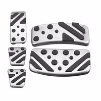 MT AT Car Clutch Brake Accelerator Pedal para o pé Rest Pad Covers para Mitsubishi ASX LANCER EX Outlander Car Styling Sticker Cover