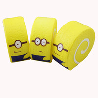 Wholesale minion mini - Minions squishy simulates food to play bread cake carry fragrance cute toy prop mini squishies squeeze cartoon toys gifts