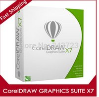 Wholesale Coreldraw Graphics Suite - CorelDRAW Graphics Suite X7 software license For Win 32 64Bit Support Multi-Language