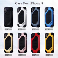 Wholesale hornet phone for sale - Group buy Hybrid Case New in super hornet phone shell case for iPhone x plus PLUS S8 plus protective cover anti drop shell manufacturers