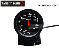 Wholesale Defi Gauge Temp - Tansky Cars   Vehicle Meter   Gauge Defi 60mm OIL TEMP GAUGE original color box Black Bracket light:red,white TK-BF60004-OILT