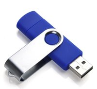 Wholesale Tablet Logo - Smart Cellphone pendrives 64GB 128GB 256GB USB 2.0 OTG Flash drive for tablet computer retail package customized logo printing on case