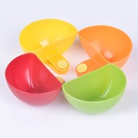 Wholesale Spice Tools - 4Psc lot Dip Clips Kitchen Bowl kit Tool Small Dishes Spice Clip For Tomato Sauce Salt Vinegar Sugar Flavor Spices Y50*JJ0270#M5