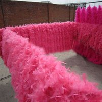Wholesale Strip Dance Dress - Feather Boa Turkey Feather Boa Strip for Wedding Marabou Feather Boa Scarf Many Colors Glam Flapper Dance Fancy Dress Costume Accessory