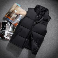 Wholesale duck vest xl - 2018 New north Winter men's Down puffer jacket Casual Brand Hoodies Down Parkas Warm Ski Mens face vest 60