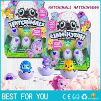 Wholesale Collection Eggs - New hot Hatchimals Colleggtibles Season 1 Nest 4-Pack + Bonus Bundle Baby Mini Egg Carton Collection Toys for Kids Novelty Toy