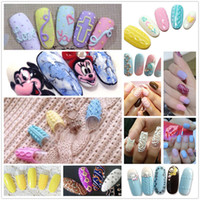 Wholesale Uv Set Nail Products - Wholesale-Newest nail products of 3d emboss gel uv gel,sculpture uv gel 12 color set