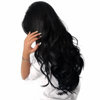 Wholesale peruvian weave hairstyles resale online - Body Wave Hair Weaves Wigs Unprocessed Brazilian Virgin Hair Full Lace Wigs Natural Black Body Wave Human Hair Glueless Lace Wigs For Women