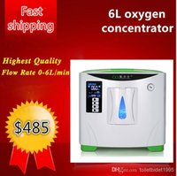 Wholesale O2 Generator Portable - Latest design O2 SPA 0L-6L outflow 30%-90% purity Oxygen bar with high purity oxygen concentrator generator xy-1 free shpping