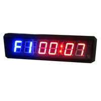 Wholesale 1 inch Red and Blue GYM Crossfit Timer Trainning Sport Fitness Alternately Timer