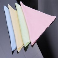 Wholesale microfiber camera lens cleaning cloth - 10PCS Cleaner Clean Glasses Lens Cloth Wipes For Sunglasses Microfiber Eyeglass Cleaning Cloth For Camera Computer Women's