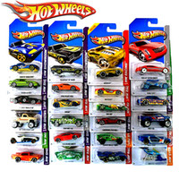 Wholesale Kids Classic Toy Cars - 72pcs lot Hot wheels classic cars toys original Boy girl children Toys sport car HOT WHEELS race car Metal models Toys