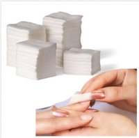 Wholesale Nail Polish Wipes - 900 pcs Nail Art pad Wipes Paper Lint Pad Polish Remover Cleaner Gel Acrylic Tips pads new