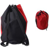 Wholesale Clubs Golf Bags - Taekwondo player bag Kickboxing sport backpack Black red Waterproof exercise cinch Free combat club drawstring case