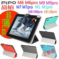 Wholesale Case For Pipo M6 Tablet - Hot Selling Original Ultra thin leather case Stand Folio Case Cover for PIPO Smart U8 M1 M6 M7 M8 M9 PRO PRO Tablet MID Tablet case cover
