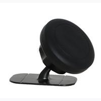 support de téléphone collant de voiture achat en gros de-Support de téléphone de voiture magnétique universel 360 degrés rotatif tableau de bord sticky mount support de téléphone portable aimant pour iphone pour Samsung