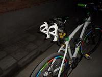 eyer rayı toptan satış-Toptan-2015 bisiklet bisiklet bisiklet Alüminyum Arka Dağı Eyer-Ray Braketi Su Şişesi Kafesleri tutucu Triatlon mtb yol Dağ