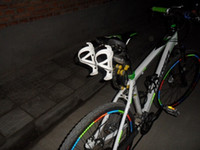 Wholesale Mounted Mtb - Wholesale-2015 bike bicycle cycling Aluminum Rear Mount Saddle-Rail Bracket Water Bottle Cages holder for Triathlon mtb road Mountain