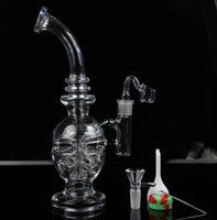 Wholesale Faberge Eggs - JUNE New Glass bong fab egg Bongs original Faberge Egg Water pipe recycler bongs oil rig dabs glass