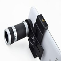 Wholesale Galaxy S2 Camera Lens - Camera Lens 8X Telescope Zoom Telephoto for iPhone 4 4S 5 5S 5C 6 Samsung Galaxy S S2 S3 S4 S5 Note 2 3 Mobile Phone Smartphone A5