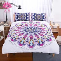 Manyun Brand Christmas Bedding Sets BlueRed Eye Vortex Impressão ativa e tingimento 3 pcs Comforter Duvet Cover Home Textiles
