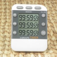 Kitchen sports countdown timers - 3 Channel Timer Countdown Countup Multi Timers Stopwatch Kitchen Reminder Sports Multi channel Hours hour Calculator