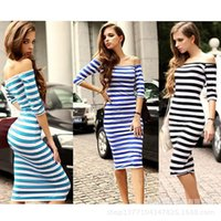 Wholesale Chiffon Knee Length Skirt L - Free Shipping 3 color 4 yards big explosion models in Europe and America in Europe and America star with a pencil skirt striped dress fast s