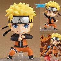 Wholesale Nendoroid Naruto - NARUTO Uzumaki Naruto Nendoroid 682# toys Action Figure Japanese Anime Characters Model for Christmas Gift PABITOYFIRM
