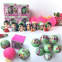 Wholesale Funny Baby Bottles - Funny Toy Gift 7.5cm LOL surprise doll with Many style Baby Ball Toys With Retail Box Baby Dolls Lil Sisters Series 2 Christmas Gifts