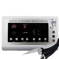 terapia de ultrasonido al por mayor-2015 3in1 1.1MHz Ultrasonido ultrasonido piel Desmaquillador de punto Mole Tatuaje Eliminación Body Therapy Face spa dispositivo Masaje instrumento Beauty Machine