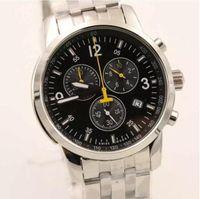 42c1f473e5a Venda quente Por Atacado frete grátis AAA qualidade homens relógio de  quartzo T movimento da raça relógio de pulso de aço inoxidável relógios de  pulso de ...