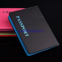 Wholesale Business Case Document - Brand New Travel RFID Blocking Folio Passport Credit Debit Card Travel Document Organizer Wallet Case Multi-function