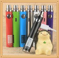 Wholesale Ego Dct V2 - New UGO-V2 Battery E Cigarette Ego Batteries for 510 Thread Vaporizer mt3 CE4 CE5 CE6 ViVi Nova DCT atomizer 650 900mah Colorful 510 battery
