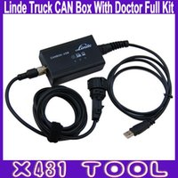 Wholesale Linde Pathfinder - Best Quality Linde Truck CAN Box With Truck Doctor Full Kit With PathFinder Software USB Diagnostic Tool