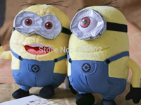 Wholesale Despicable Beans - 13inch 33cm 2 styles New Despicable me character cute 3D soya beans plush toy