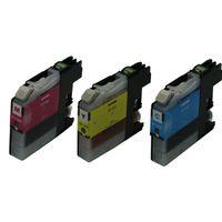 tinta rápida al por mayor-Cartucho de tinta compatible 3PK LC117BK LC115C LC115M LC115Y para Brother MFC-J4510N DCP-J4210N Cartucho de tinta de secado rápido de Japón
