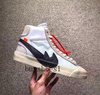 Wholesale Medium Blazer - (With Original Box) 2018 The Ten Off White X Virgil Abloh x Blazer Blazer Mid Men Running Virgil Abloh x Blazer Sneakers
