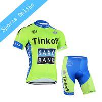 2016 Cycling Jersey sets ropa Ciclismo hombre Tinkoff saxo bank bicicleta  maillot ciclismo Bicycle clothing MTB shirt gel bib short ... c3f0d2066